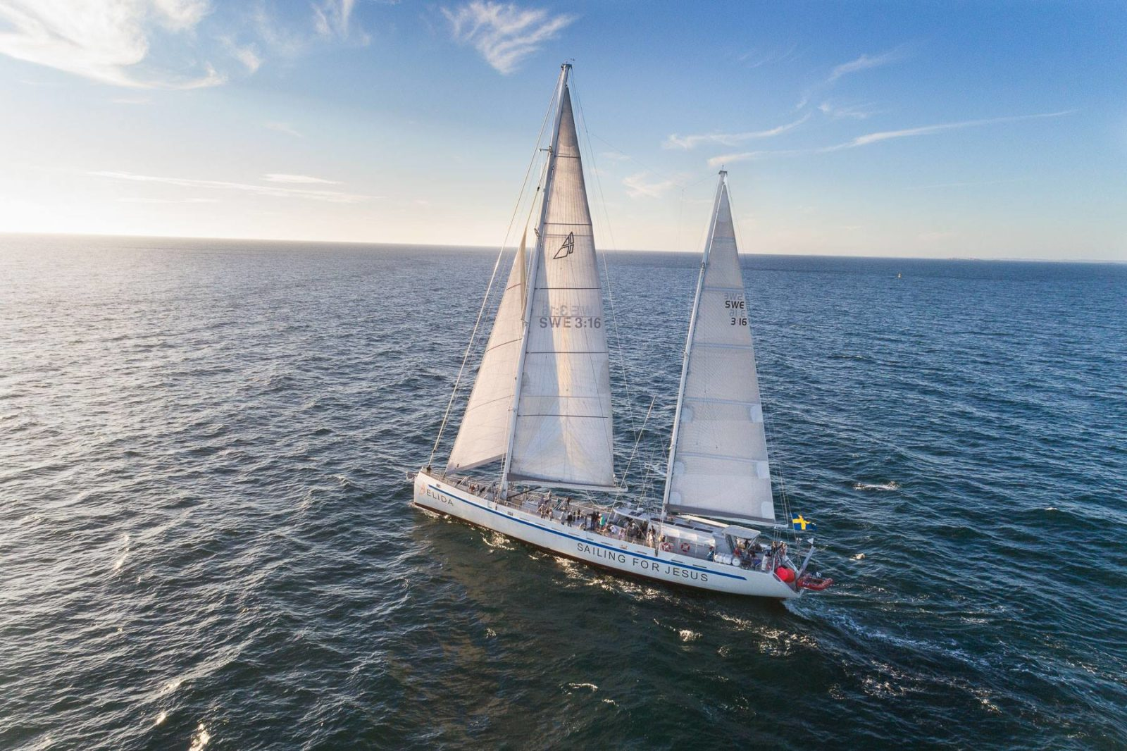 Elida Sailing for Jesus